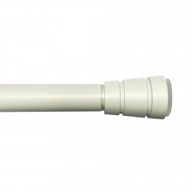Tringle extensible autobloquante laqué blanc 90-150 cm ø28 mm - Habillage de la fenêtre