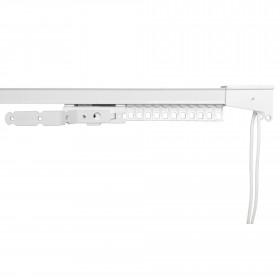 Rail rideau à cordon CCS avec accessoires - 30 cm à 200 cm - Habillage de la fenêtre
