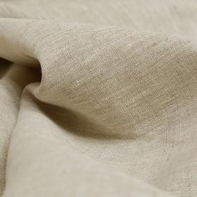 Tissu Lin 240gr/m² - coloris naturel, le mètre - Fournitures tapissier
