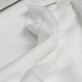 Microfibre 300 gr/m² - Tissu éponge absorbant blanc, le mètre - Fournitures tapissier