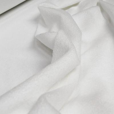 Microfibre 300 gr/m² - Tissu éponge absorbant blanc de largeur 1m50 - Le mètre