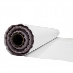 Toile de Lin 240 gr/m² - coloris neige, rouleau de 30 mètres - Fournitures tapissier