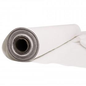Tissu Lin 240 gr/m² - coloris blanc, rouleau de 20 mètres - Fournitures tapissier