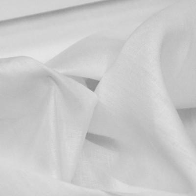Toile de Lin 240 gr/m² - Coloris blanc de largeur 1m50 - Le mètre