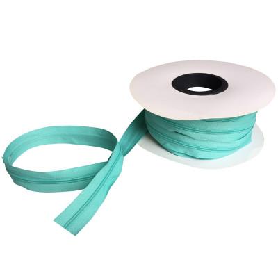 Fermeture à glissière turquoise 5 mm, les 25 mètres