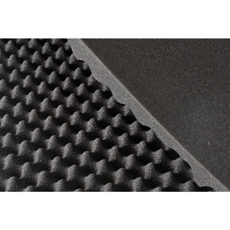 Plaque de mousse acoustique alvéolée 200 x 150 x 4 cm