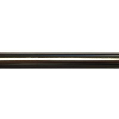 Barre de rideau Nickel Brossé 200 cm Ø19 mm