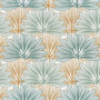 Tissu Camengo - Collection Izu - Koyo Bleu -138 cm