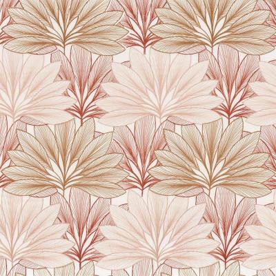 Tissu Camengo - Collection Izu - Koyo Terracota - 138 cm