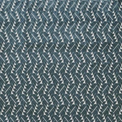Tissu Camengo - Collection Izu - Momiji Bleu - 140 cm