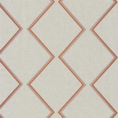 Tissu Camengo - Collection Izu - Torii Orange - 130 cm