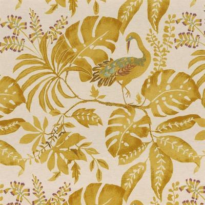 Tissu Camengo - Collection Izu - Izu Jaune - 138 cm