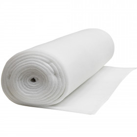 Ouate polyester 300 g/m2 - 20mm Largeur 160cm Oeko Tex rouleau 25m - Fournitures tapissier