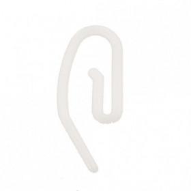 Agrafes escargot plastique, par 1000 - Habillage de la fenêtre