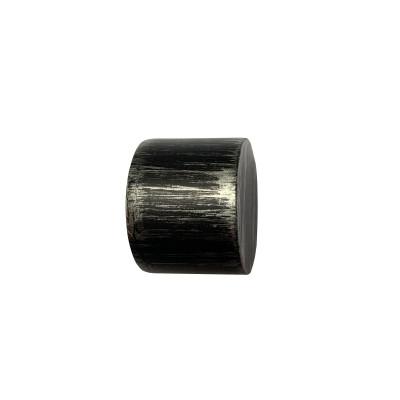 Embout Bouchon Noir Fer Forgé pour tringle à rideaux ø19 mm, à l'unité