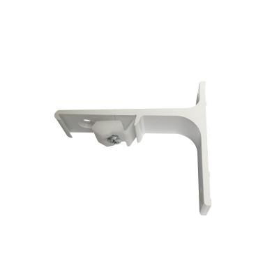 Support Mural Aluminium 75 mm pour rail KS - DS - CS - Blanc