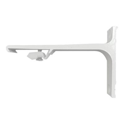 Support Mural Aluminium 100 mm pour rail KS - DS - CS - Blanc