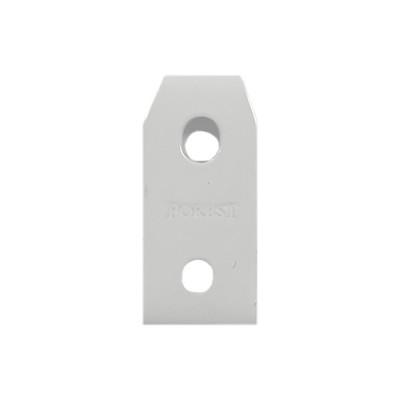 Fixation plafond - Rails KS - blanc