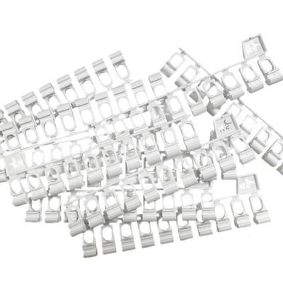500 Glisseurs asymétriques pour rail rideau KS - DS - blanc