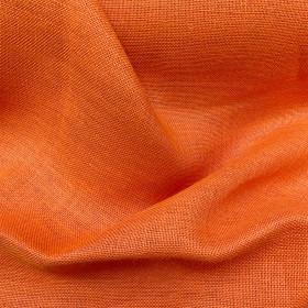 Toile de jute Orange le mètre - Fournitures tapissier