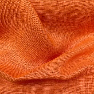 Toile de jute Orange, le mètre
