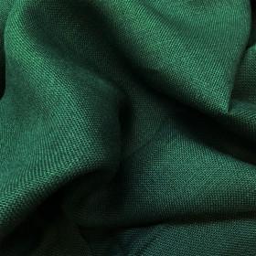 Toile de jute Vert Sapin, le mètre - Fournitures tapissier