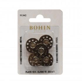 Canettes machine à coudre x5 BOHIN - Mercerie