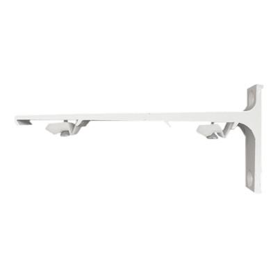 Support Mural Aluminium 150 mm - Blanc - Pour rail KS - DS - CS