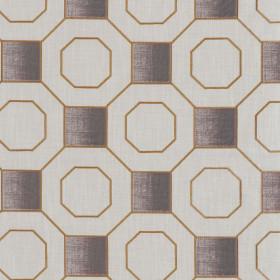 Tissu Camengo - Collection Vérone - Vérone Cuivre - 137 cm - Tissus ameublement