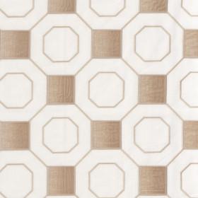 Tissu Camengo - Collection Vérone - Vérone Beige - 137 cm - Tissus ameublement