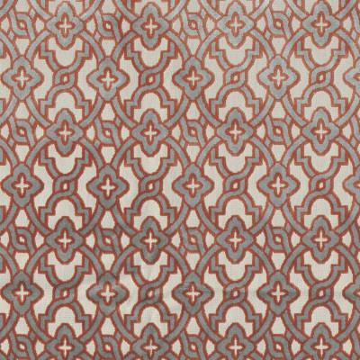 Tissu Camengo - Collection Vérone - Montaigu Terracota - 138 cm