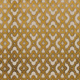 Tissu Camengo - Collection Vérone - Montaigu Or - 138 cm - Tissus ameublement
