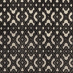 Tissu Camengo - Collection Vérone - Montaigu Taupe - 138 cm - Tissus ameublement