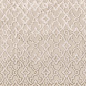 Tissu Camengo - Collection Vérone - Montaigu Beige - 138 cm - Tissus ameublement