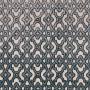 Tissu Camengo - Collection Vérone - Montaigu Bleu - 138 cm