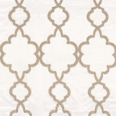 Tissu Camengo - Collection Vérone - Roméo Blanc - 136 cm