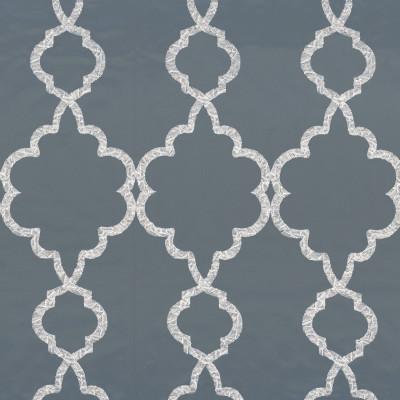 Tissu Camengo - Collection Vérone - Roméo Bleu - 136 cm