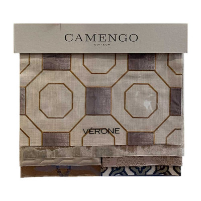Grande collection de tissus Camengo - Gamme Vérone