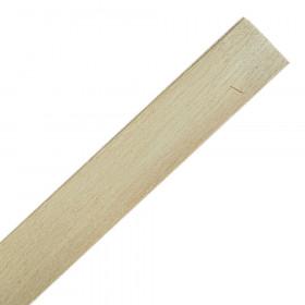 Profil bois biseauté 250cm - Botte de 25 longueurs 3mm/30mm