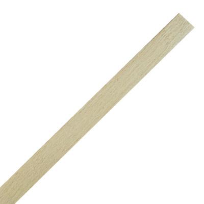 Profil bois biseauté 250cm - 15x3mm - Botte de 25 longueurs