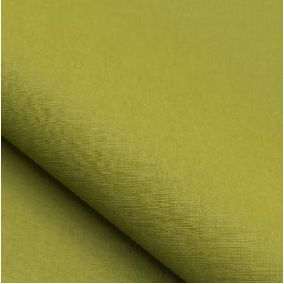 Tissu NOBILIS - Collection Mirage Filomene - Vert pomme - 140 cm