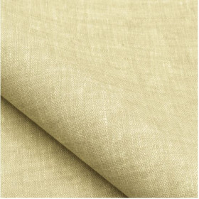 Tissu NOBILIS - Collection Mirage Linum - Ivoire - 140 cm - Tissus ameublement