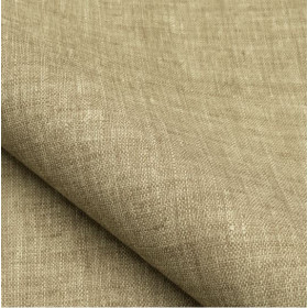 Tissu NOBILIS - Collection Mirage Linum Non feu - Lin - 140 cm - Tissus ameublement