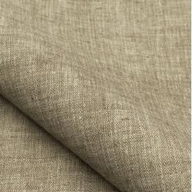 Tissu NOBILIS - Collection Mirage Linum - Taupe - 140 cm - Tissus ameublement