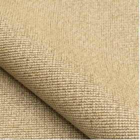 Tissu NOBILIS - Collection Mirage Paille - Lin - 137 cm - Tissus ameublement