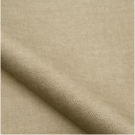 Tissu velours NOBILIS - Collection Milo - Beige - 140 cm - Tissus ameublement