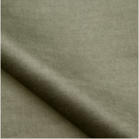 Tissu velours NOBILIS - Collection Milo - Gris Souris - 140 cm - Tissus ameublement
