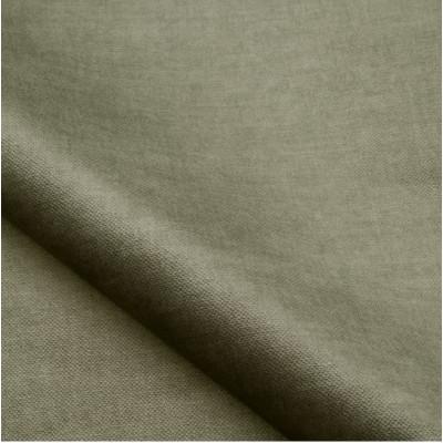 Tissu velours NOBILIS - Collection Milo - Gris Souris - 140 cm