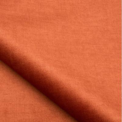 Tissu velours NOBILIS - Collection Milo - Paprika - 140 cm