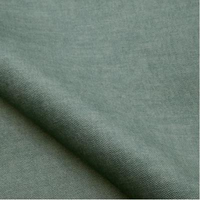 Tissu velours NOBILIS - Collection Milo - Bleu Gris - 140 cm